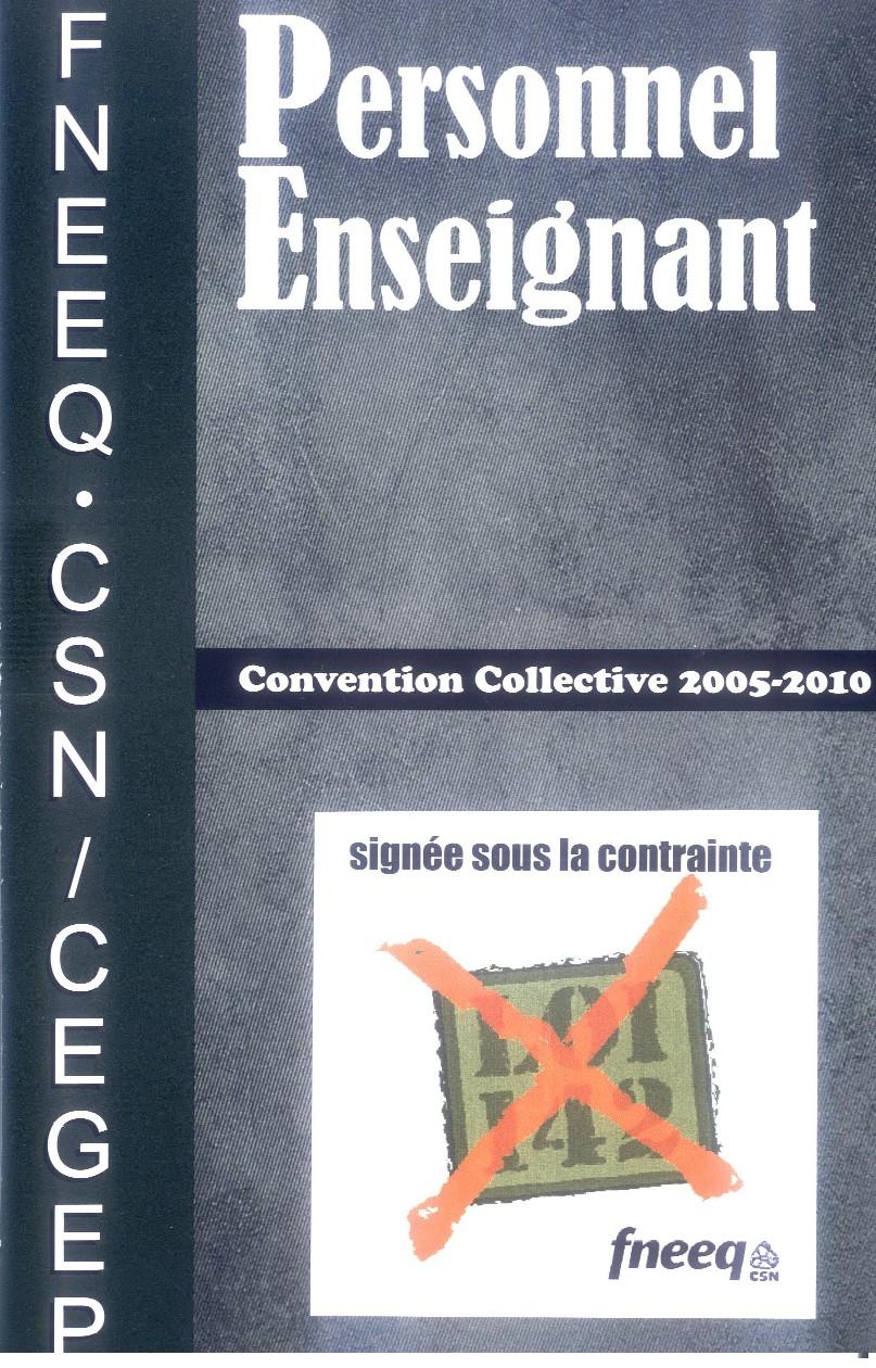 1ere page de la cc - cegep - 1page