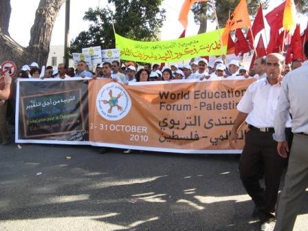 MichelDuchesne_marche d'ouverture Ramallah